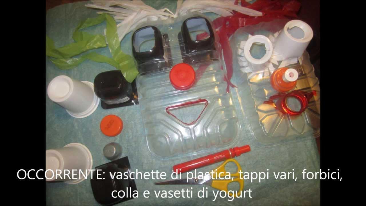 Maschere carnevale bambini fai da te con materiale for Altalena con scivolo per bambini