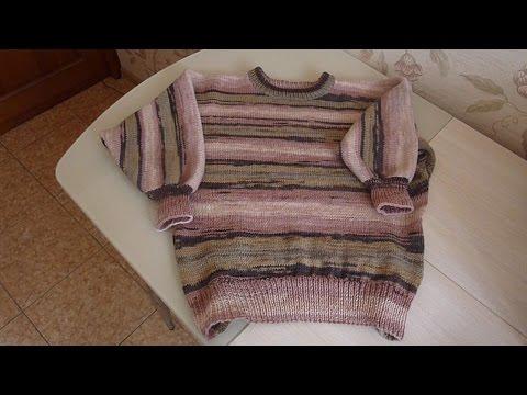 Свитер для начинающих, летучая мышь часть 1/Sweater for beginners, bat part 1