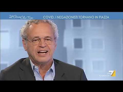 No mask, Enrico Mentana contro i negazionisti: 'È folle, su alcune cose non si gioca'