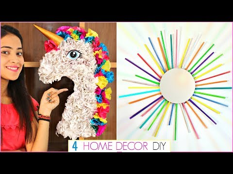 DIY Home Decor Using Waste - 4 Easy Craft Ideas at Home | #Recycle #Handcraft #Anaysa #DIYQueen