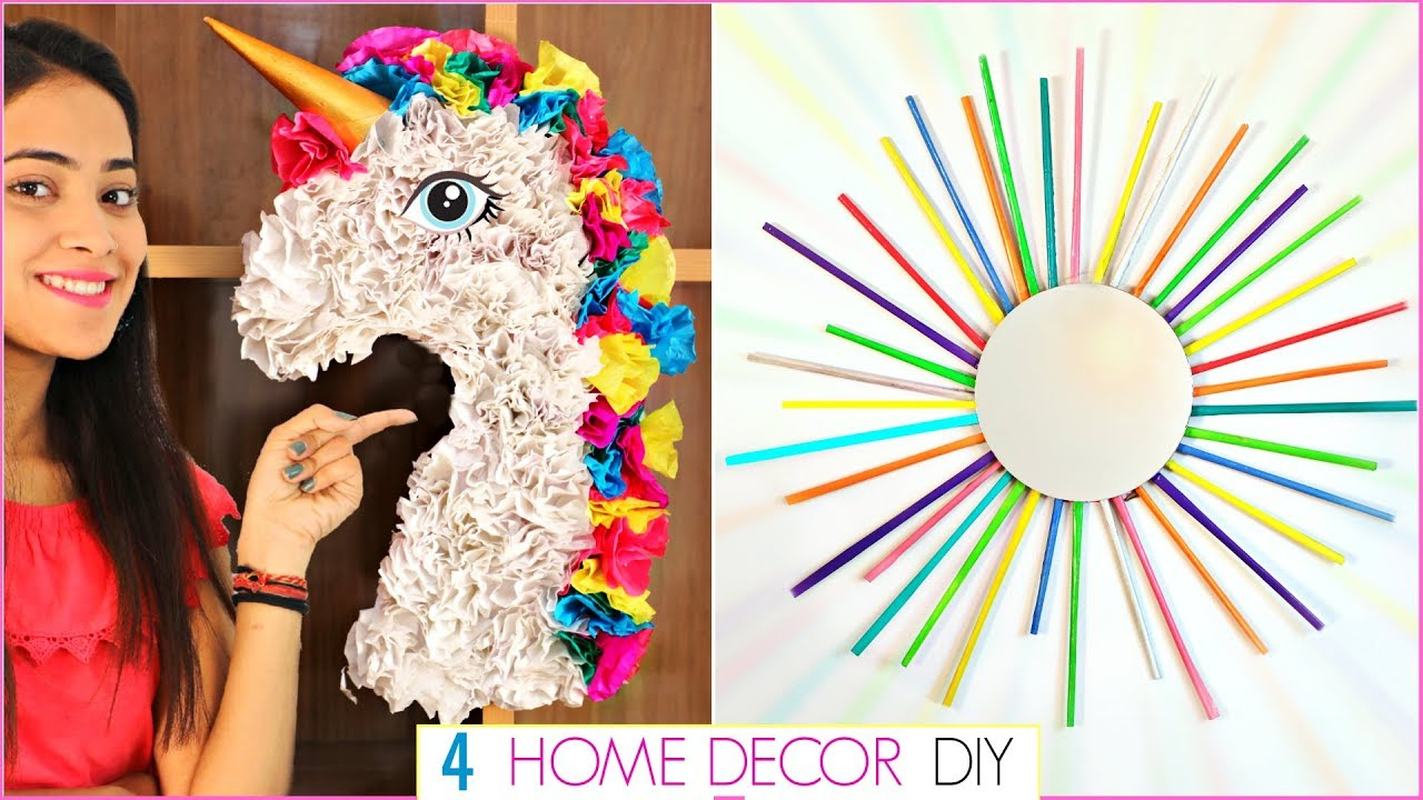 Diy Home Decor Using Waste 4 Easy Craft Ideas At Home Recycle Handcraft Anaysa Diyqueen