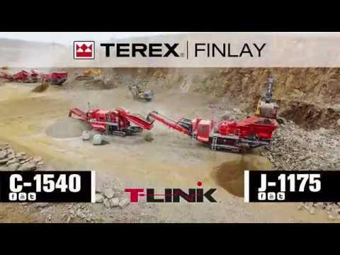 Terex Finlay J 1175 Jaw & C 1540 Cone Crushers