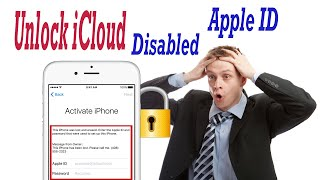 How to Bypass Activation lock Apple ID Disabled Success 2019/iCloud King