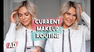 CURRENT MAKEUP ROUTINE | HOW TO COVER DARK CIRCLES