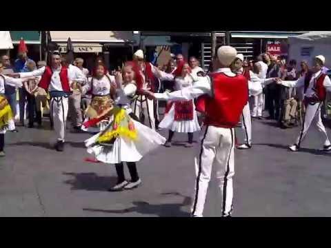 Albanian Dance in Goes Netherlands