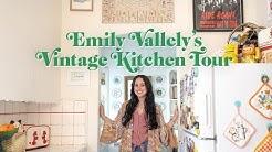Vintage Kitchen Tour | Emily Vallely's Vintage Apartment