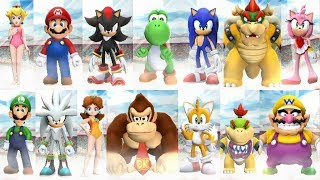 Mario and Sonic at the London 2012 Olympic Games (Wii) - All Characters