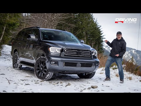 2021 Toyota Sequoia Nightshade Review and Off-Road Test