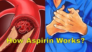 This is how aspirin prevents heart attacks, and reduces the symptoms of inflammations