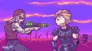 Fallout Fail. мульт по игре Fallout рус. озвучка