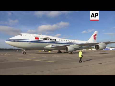 China's Xi arrives in Helsinki for Finland visit