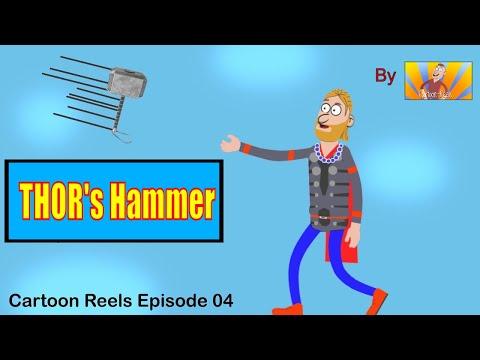 Thor's Hammer |  Episode04 | Dark Humor | Dark Comedy | By Cartoon-Reels