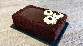 3 kq yarim sokoladli lezzet Sokoladli tort resepti Шоколадный торт