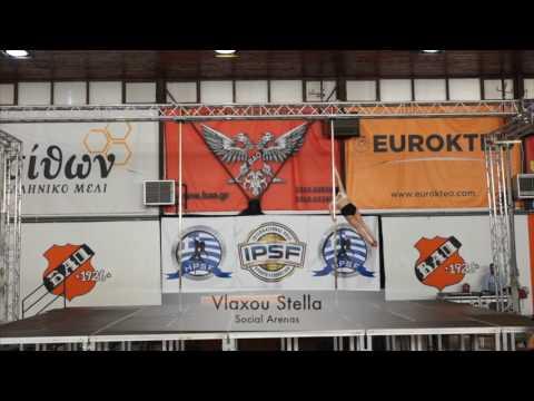 Vlaxou Stella - Hellenic Pole Sport Federation