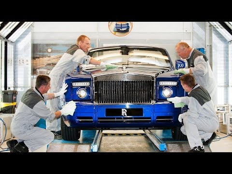 Rolls Royce Production How cars for billionaires are made!