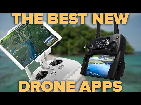 THE 5 BEST DRONE APPS - NEW LIST!