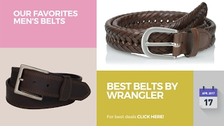 Best Belts By Wrangler Our Favorites Men's Belts