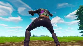 Teknique skin dancing! [ASS CAMERA] Fortnite