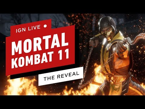 Mortal Kombat 11 Gameplay Reveal - IGN Live