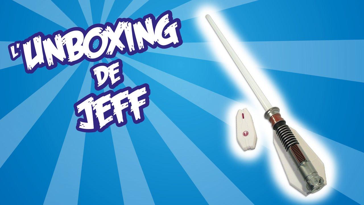 Unboxing Lampe Sabre Laser Star Wars Youtube