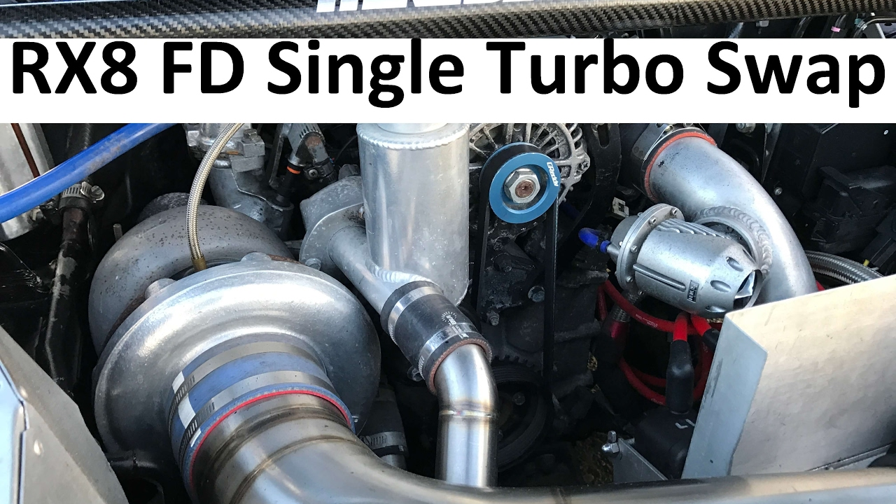 Mazda Rx 8 Rx8 Custom Engine Swap 13btt Fd Single Turbo Conversion Wiring Harness 470hp 6 Speed
