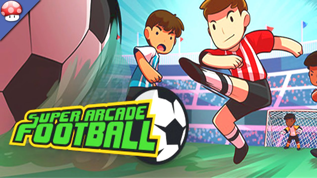 super arcade football gameplay pc hd steam early access game