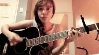 Take A Bow - Rihanna Acoustic Guitar Cover by Jenine Renée