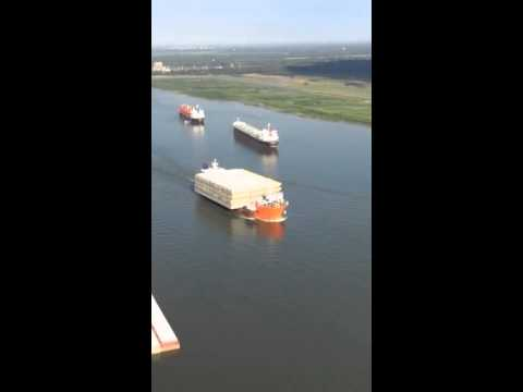 Sea Hawk Marine Logistics Mississippi River Barges to South