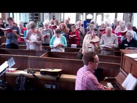 Singing OUR Faith at Castle St, Methodist Church, Cambridge, UK, 17 Oct 2015