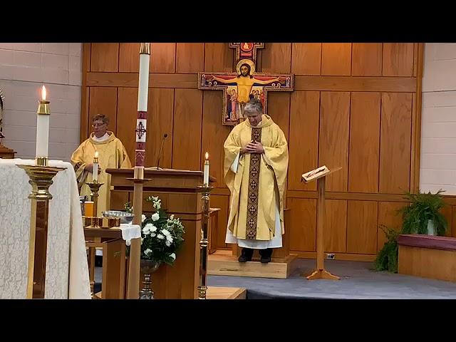 Ascension Sunday Mass - May 24, 2020 10:30 AM