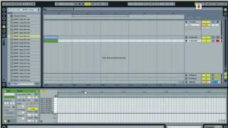 Ableton 8 - создание ударных, creating beats (Rus)