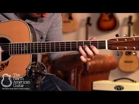 Santa Cruz 1934 D Acoustic Guitar Played By Carl Miner