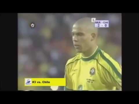 RONALDO DA LIMA ALL WORLD CUP GOAL