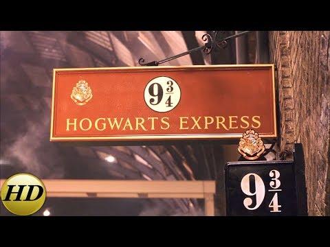 Платформа 9 и 3/4. Гарри Поттер и философский камень.