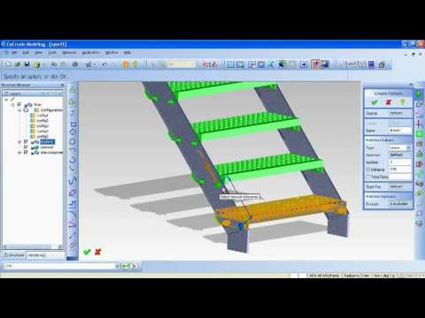 Creo Elements/Direct 17.0 Sneak Peek: Working with Advanced 3D Patterns - YouTube