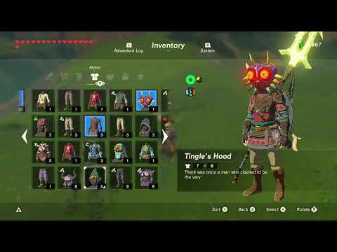 What Counts as a Good Sized Horse... in Zelda Breath of the Wild?