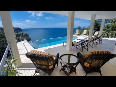 Serenity Bay Villa of Marigot Bay, St. Lucia, Caribbean