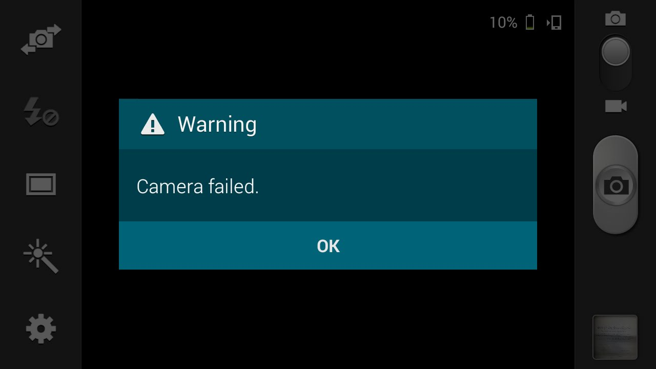Samsung mini camera not working