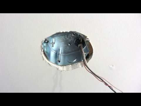 How To Install A Ceiling Fan Brace Youtube