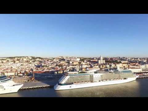 Celebrity Cruise Eclipse in Lisbon 9/27/2016
