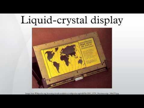 Liquid-crystal display Mp3