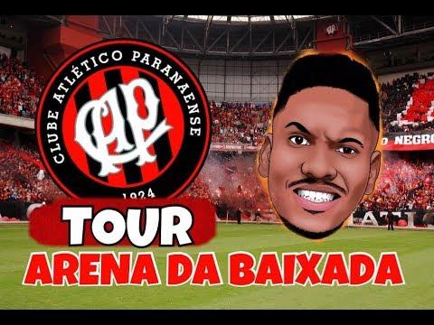 Tour Arena da Baixada | Atlético PR - (GoPro) HD