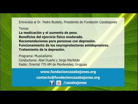 La medicación y el aumento de peso y recomendaciones para personas con depresión - Dr. Pedro Bustelo
