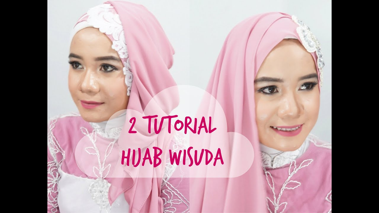 2 Tutorial Hijab Wisuda Alyn Devian AD6 YouTube