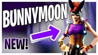 NEW BunnyMoon Skin! Spooky Live Stream | Fortnite Battle Royale