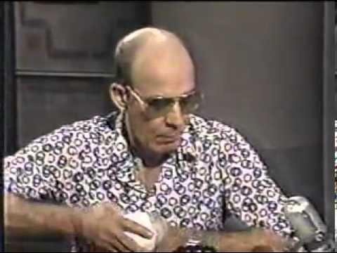Hunter S. Thompson on David Letterman-1988