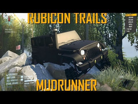 Spintires  MudRunner Rubicon Trails Prt 1