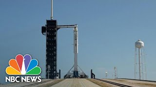 Live: SpaceX, NASA Cancels Launch Of U.S. Astronauts To International Space Station | NBC News
