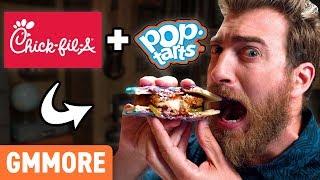 Rhett and Link sink their teeth into a Chick-Fil-A Pop-Tart. GMM #1313.4 Watch today's GMM: http://bit.ly/2HegPSX | Watch a previous GMM: ...
