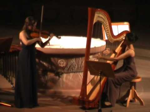 Jules Massenet - Méditation, Miriam Cramer (Violine), Samira Memarzadeh (Harfe)